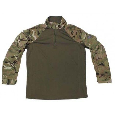 Camisa de combate multicam original del ejercito ingles.