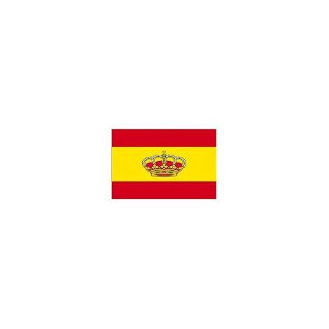 Bandera con corona LALIZAS