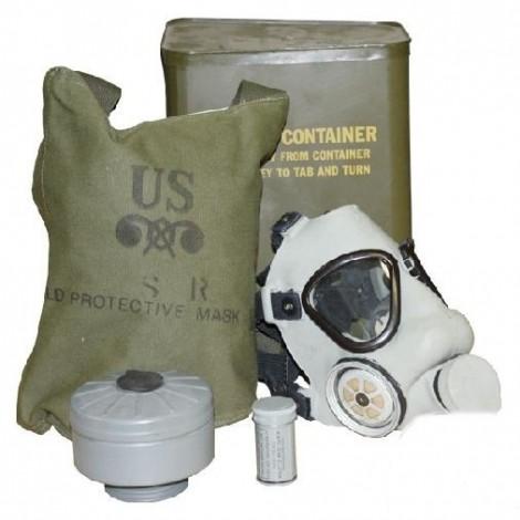 Mascara antigas M9A1 US