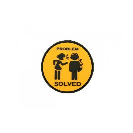 PARCHE PVC PROBLEM SOLVED