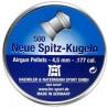 Neue spitz-kugeln H&N 4,5 MM 500UD
