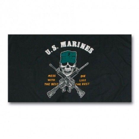 Bandera US marines