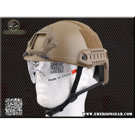 Casco con pantalla tan emerson