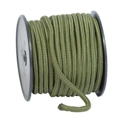 Cuerda comando verde 5mm / 70m