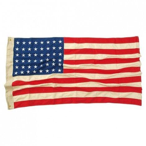 Bandera US 90X150CM 48 estrellas