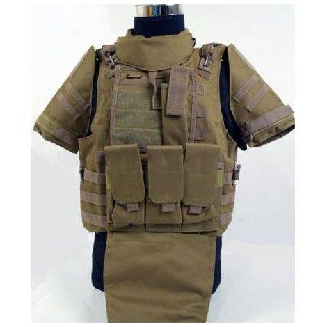 Chaleco tactico FSBE tan