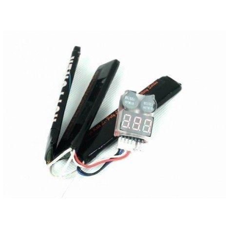 Alarma con indicador bateria Li-Po