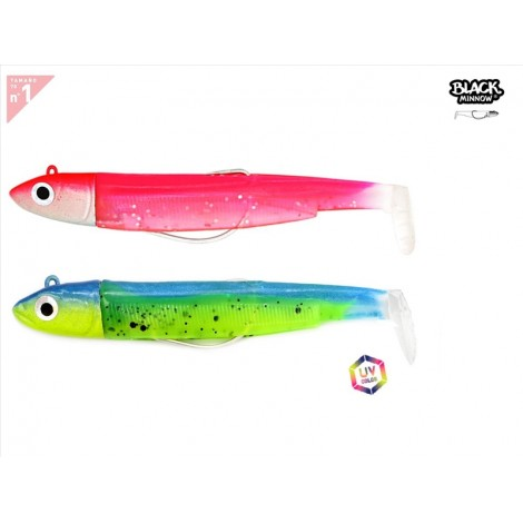 BLACK MINNOW 70 DOBLE COMBO, 6G - FLUO ROSE - SLEEPY GREEN