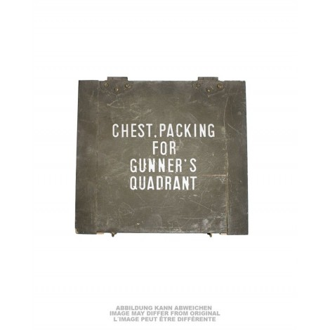 US CHEST PACKING FOR GUNNER´S QUADRANT USED
