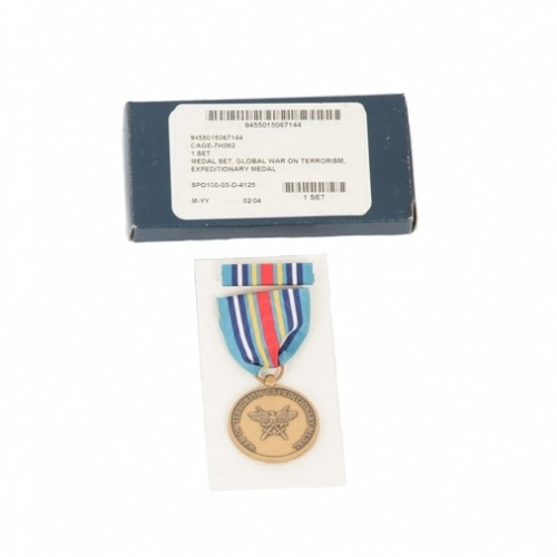 US GLOBAL WAR ON TERRORISM, EXPEDITIONARY  MEDAL