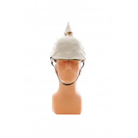 FUNDA CASCO PICKELHAUBE BLANCA