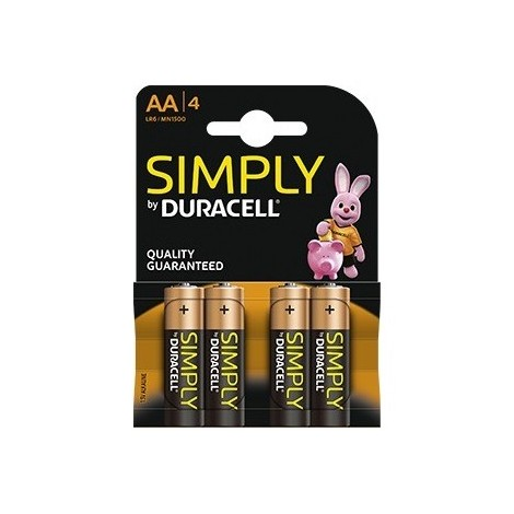 PILAS AA DURACELL SIMPLY