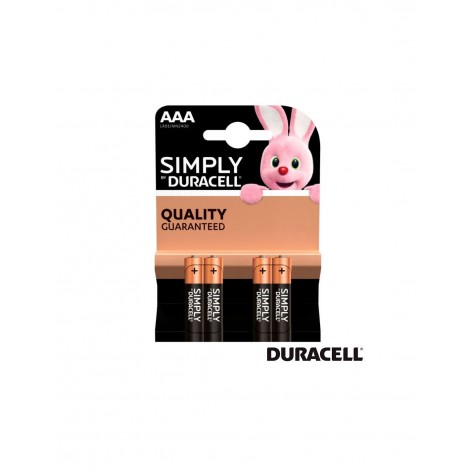 PILAS AAA DURACELL SIMPLY