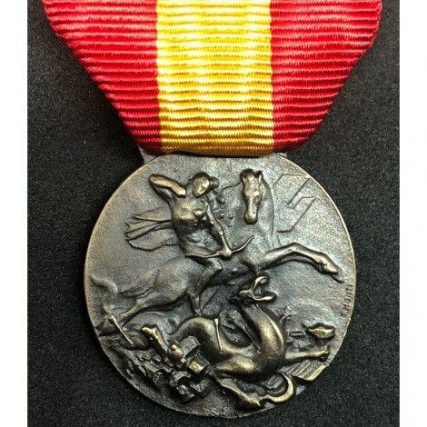 Medalla del contingente italo-español