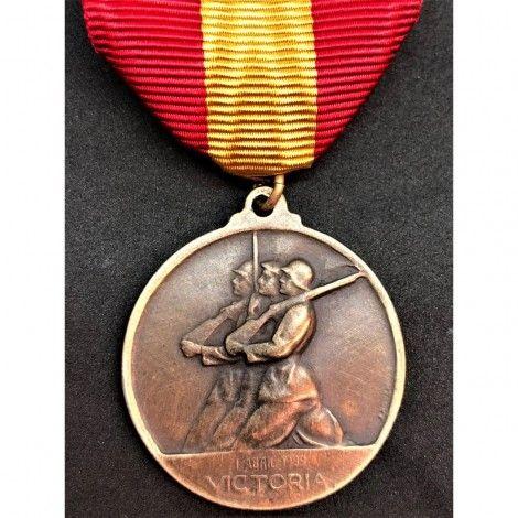"""Medalla del contingente ítalo-español """"18 de julio de 1936"""""""