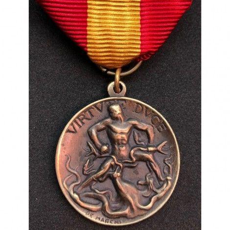Medalla de los legionarios de Roma en la tierra de España