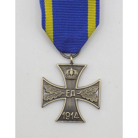 Cruz al mérito de guerra de Brunswick 2ª clase