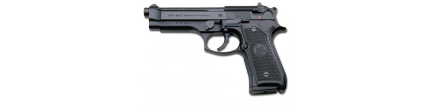 Pistolas gas