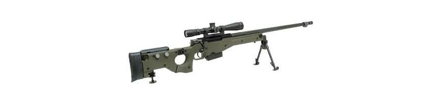 Piezas sniper muelle y gas